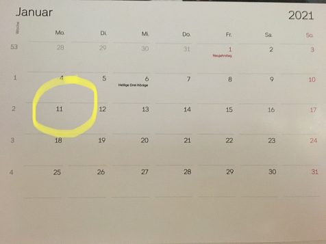 Kalenderblatt©Grundschule Landesbergen