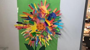 Kunstwerk Klasse 1©Grundschule Landesbergen