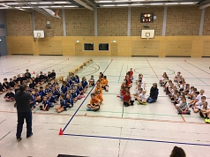 Völkerballturnier1©Grundschule Landesbergen